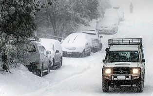 Snow Driving Tips