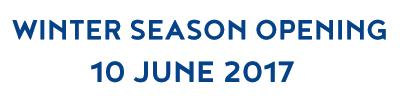 Winter Season Opening - 10 June 2017