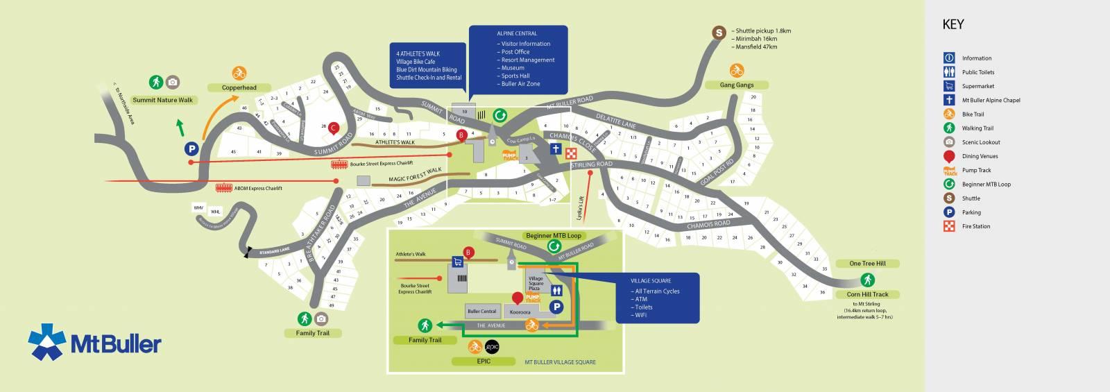 Summer Village Map