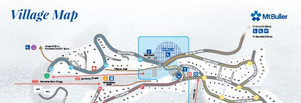 Mt Buller Resort Maps