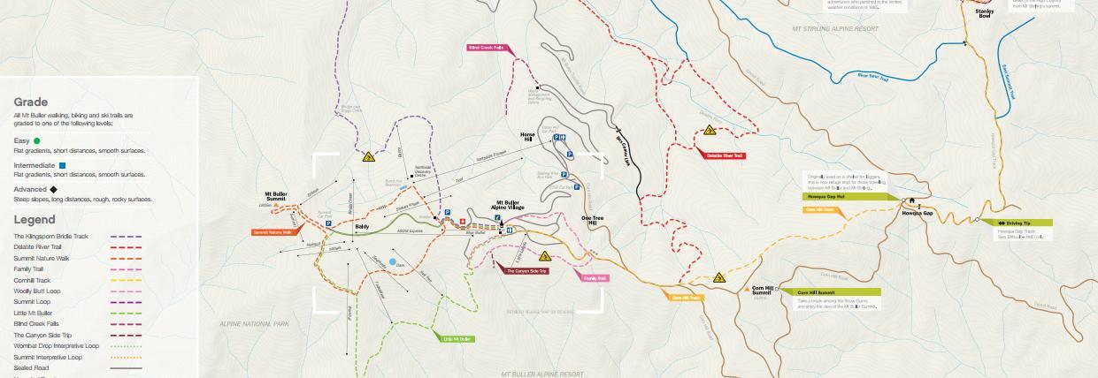 Walking Trail Map